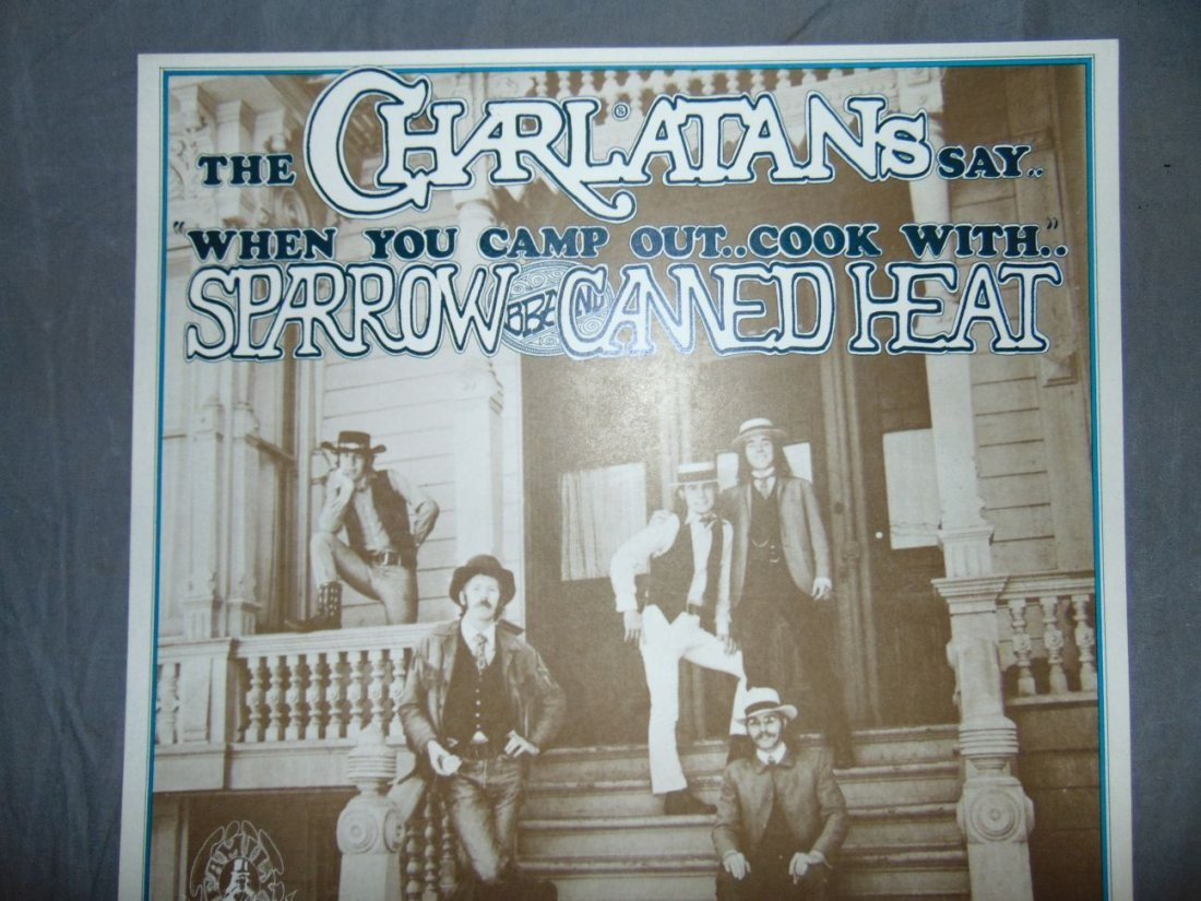 Charlatans 1967 Family Dog Concert Poster - 2