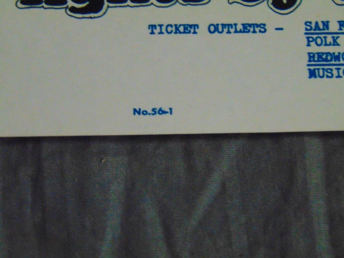 Charlatans 1967 Family Dog Concert Poster - 4