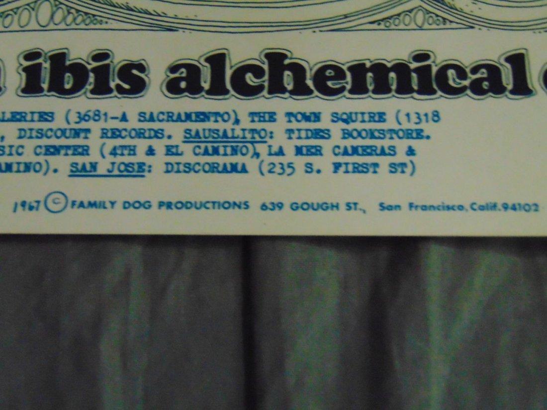 Charlatans 1967 Family Dog Concert Poster - 5