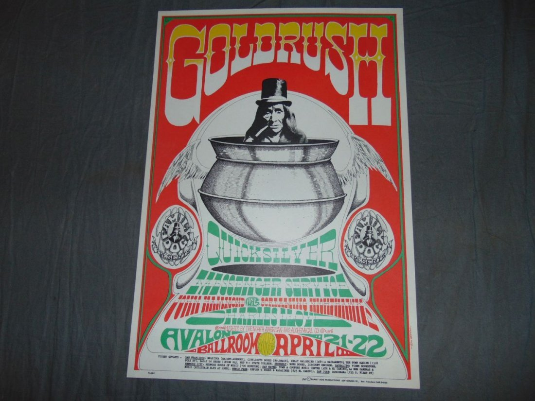 (2) Quicksilver Rick Griffin FD 1967 Concert Pstrs - 2