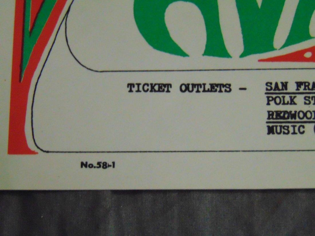 (2) Quicksilver Rick Griffin FD 1967 Concert Pstrs - 3
