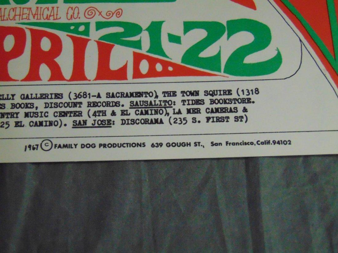 (2) Quicksilver Rick Griffin FD 1967 Concert Pstrs - 4