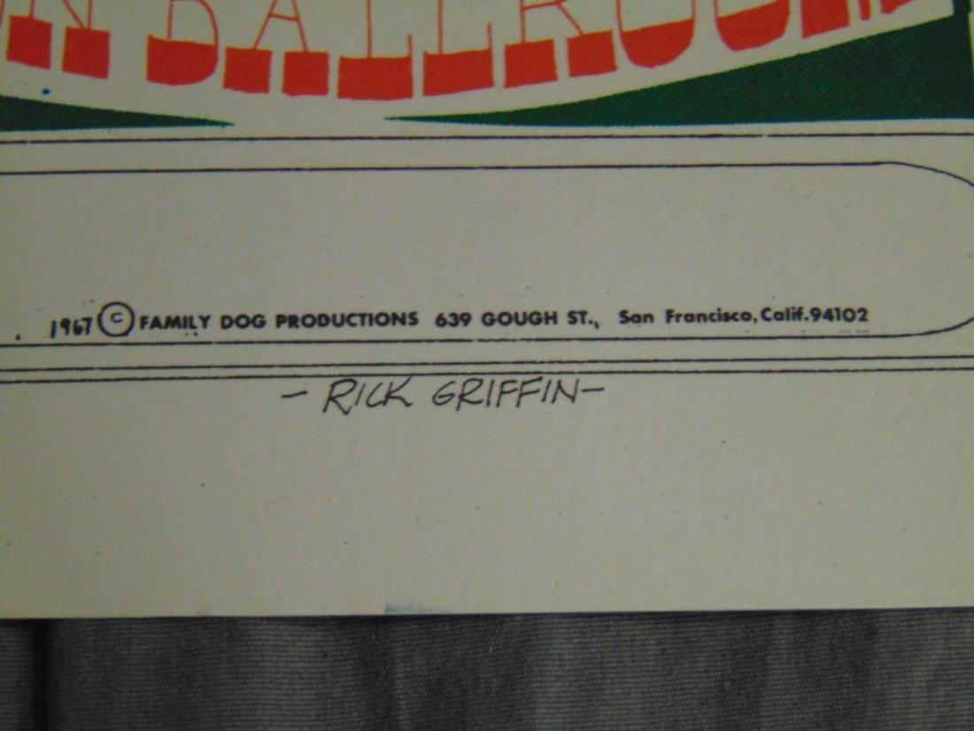 (2) Quicksilver Rick Griffin FD 1967 Concert Pstrs - 7