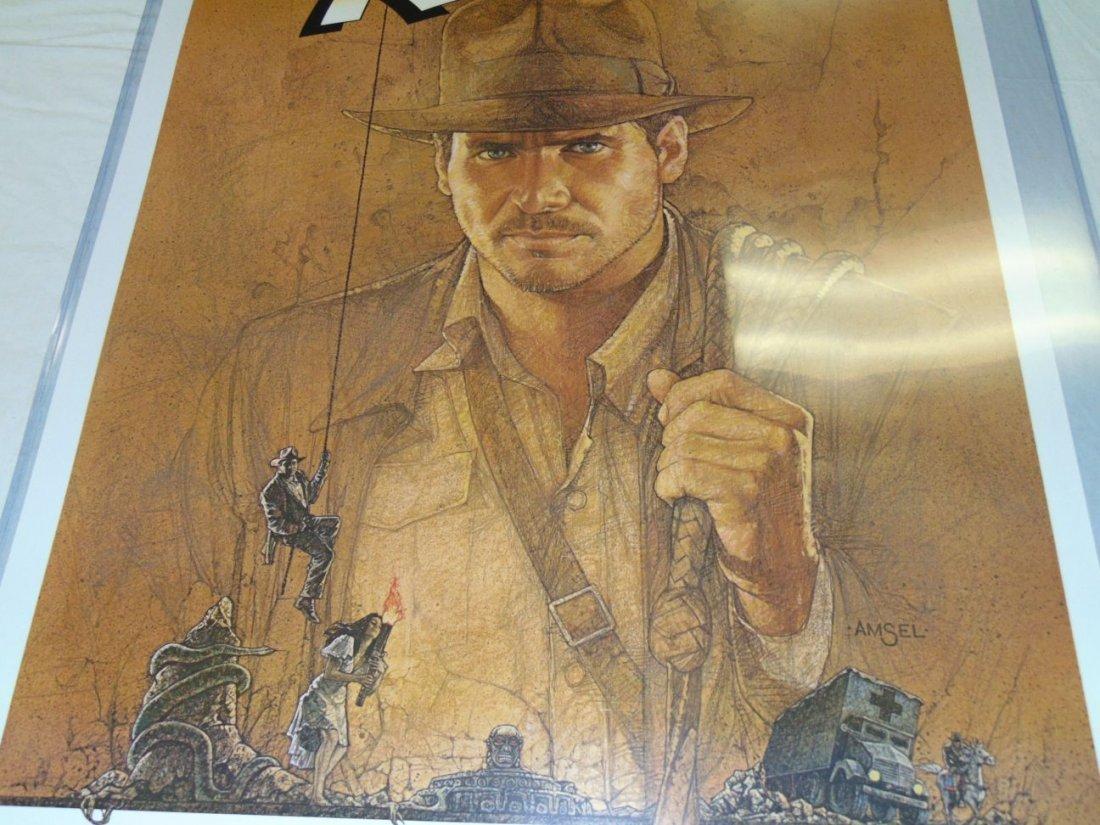 Indiana Jones 1 Sheet 1981 Movie Poster - 3