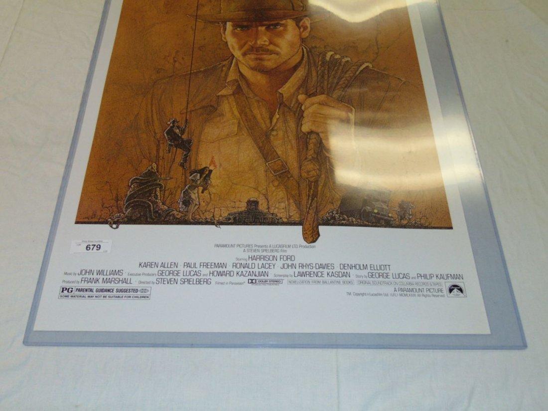 Indiana Jones 1 Sheet 1981 Movie Poster - 4