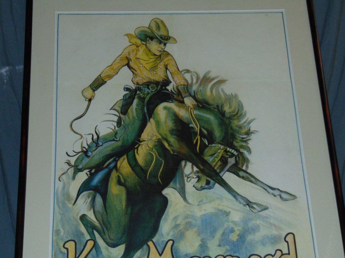 1930s Ken Maynard 1 Sheet Movie Poster - 2