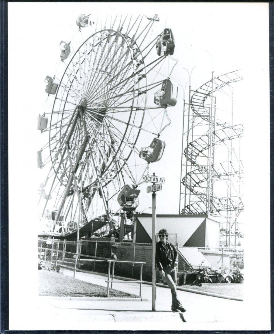 Bruce Springsteen Amusement Park Photo, Bob Sorce