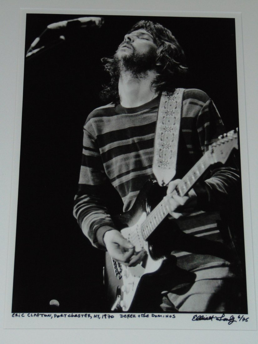 Eric Clapton Limited Edition Photo by Elliot Landy