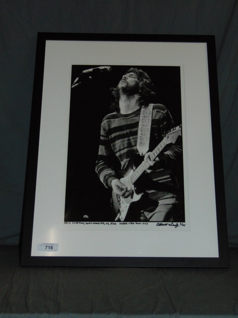 Eric Clapton Limited Edition Photo by Elliot Landy - 2