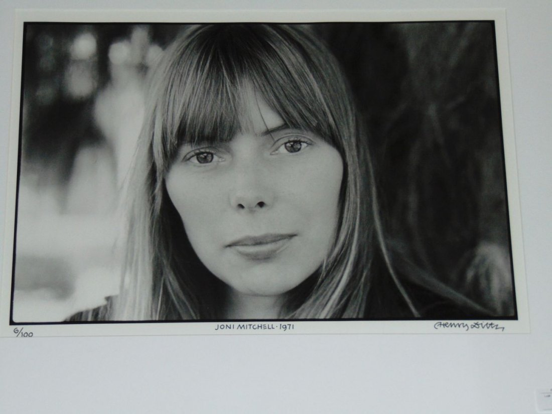 Joni Mitchell Limited Edition Photo by Henry Diltz