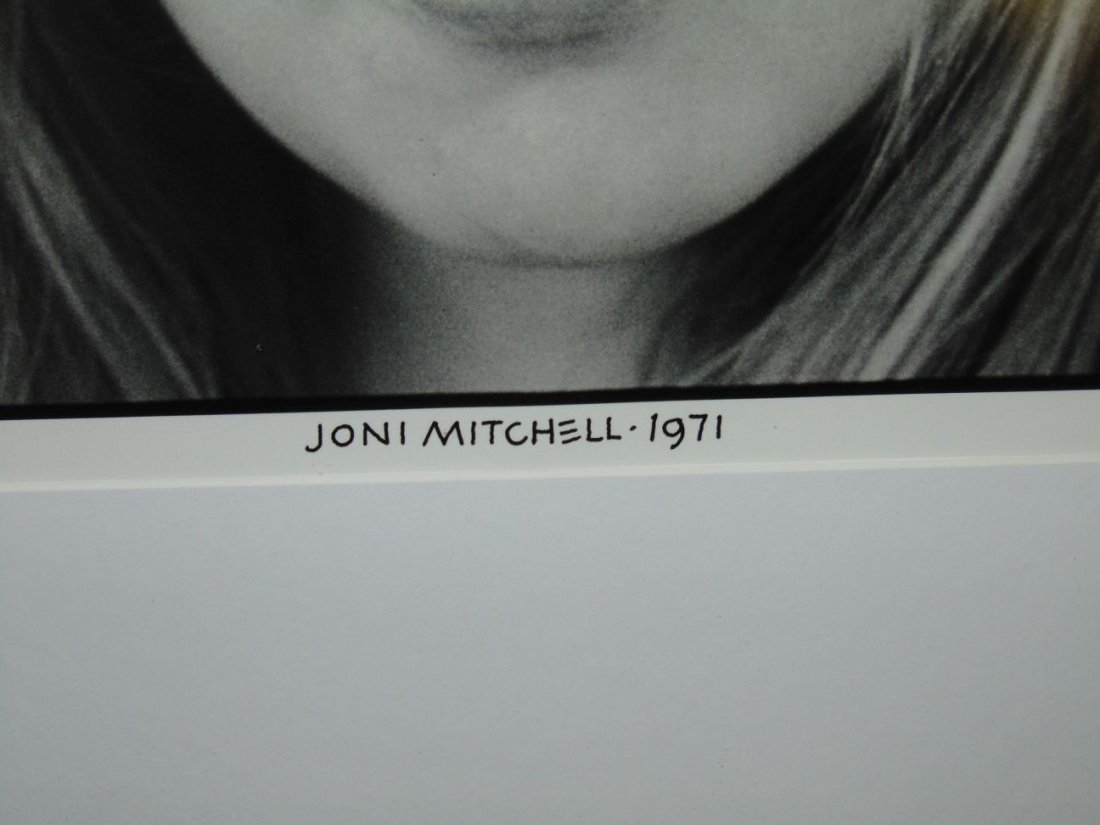 Joni Mitchell Limited Edition Photo by Henry Diltz - 3