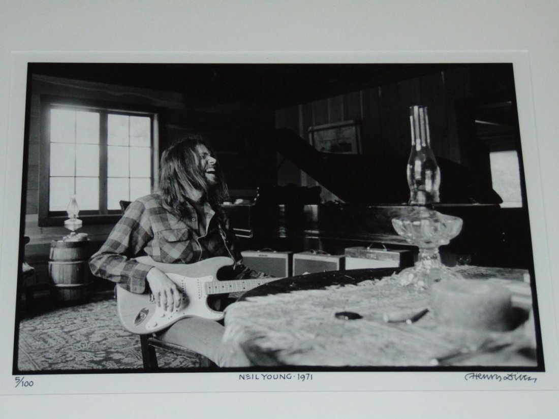 Neil Young Limited Edition Photo by Henry Diltz
