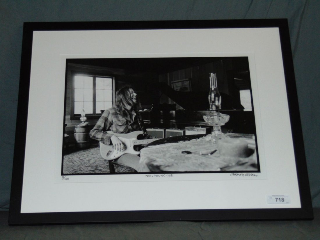 Neil Young Limited Edition Photo by Henry Diltz - 2