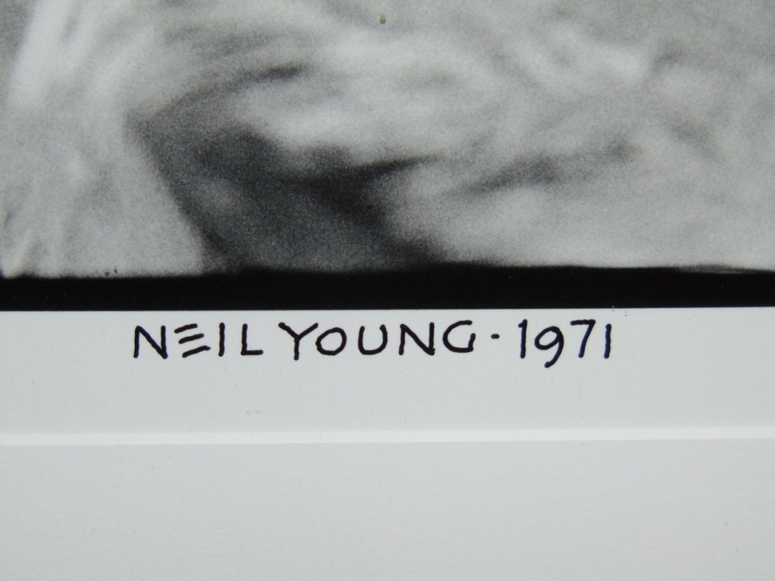 Neil Young Limited Edition Photo by Henry Diltz - 3