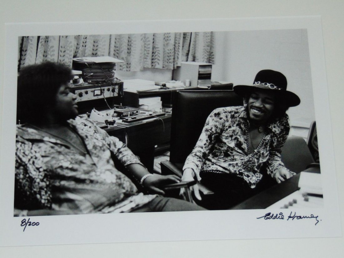 Jimi Hendrix Limited Edition Photo by Eddie Kramer