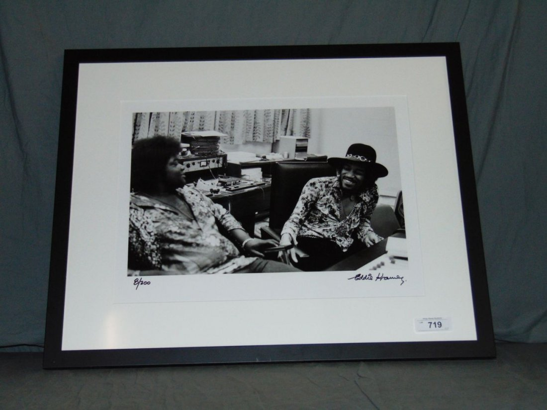 Jimi Hendrix Limited Edition Photo by Eddie Kramer - 4