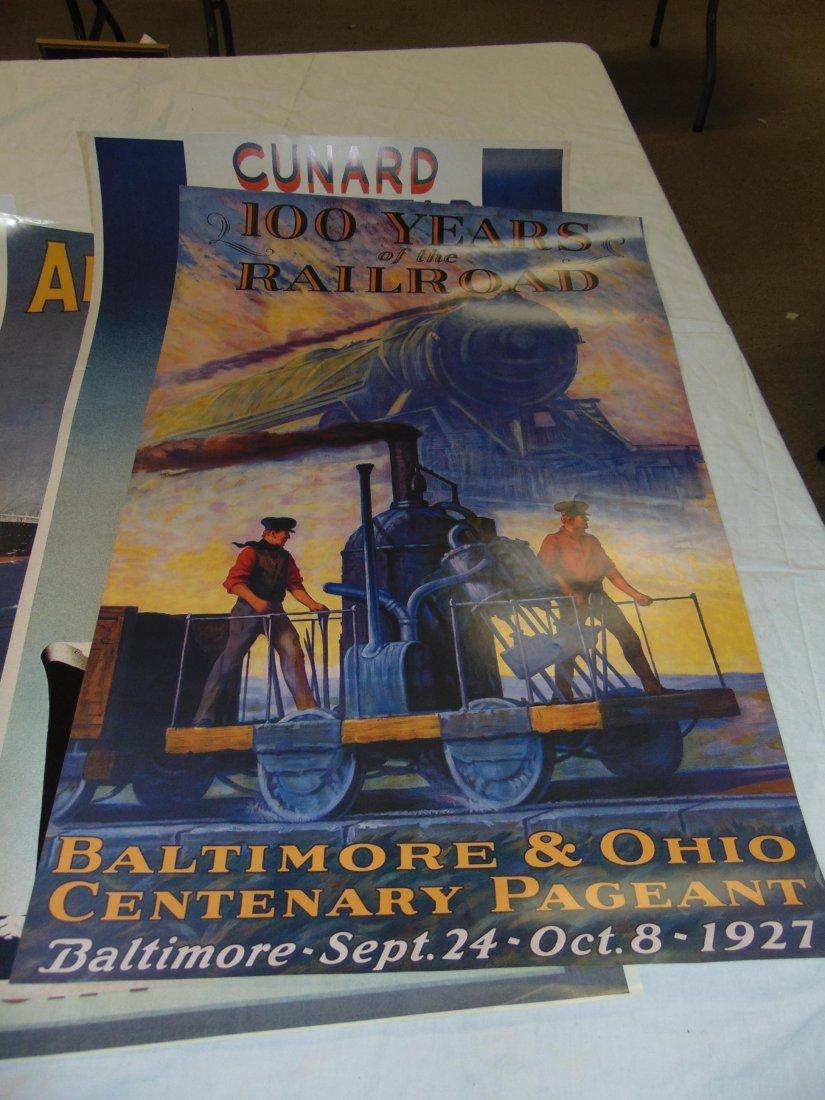 Ocean Liner Prints and Poster Lot - 3