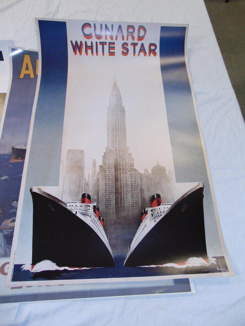 Ocean Liner Prints and Poster Lot - 5