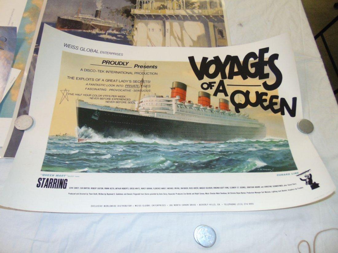 Ocean Liner Prints and Poster Lot - 6