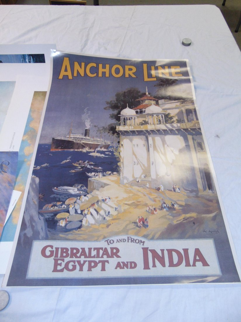 Ocean Liner Prints and Poster Lot - 7