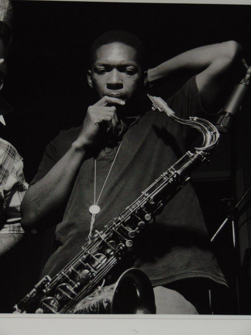 John Coltrane Black and White Photo - 2