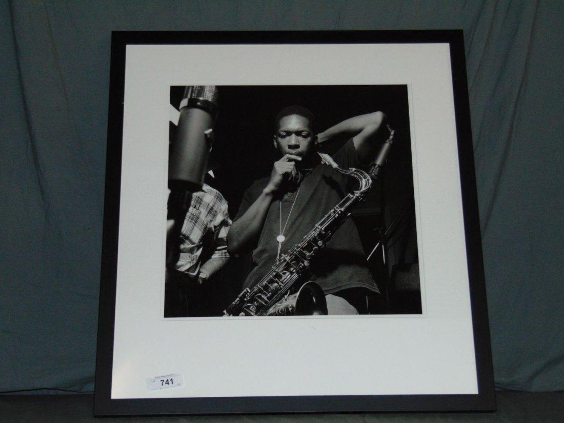 John Coltrane Black and White Photo - 3