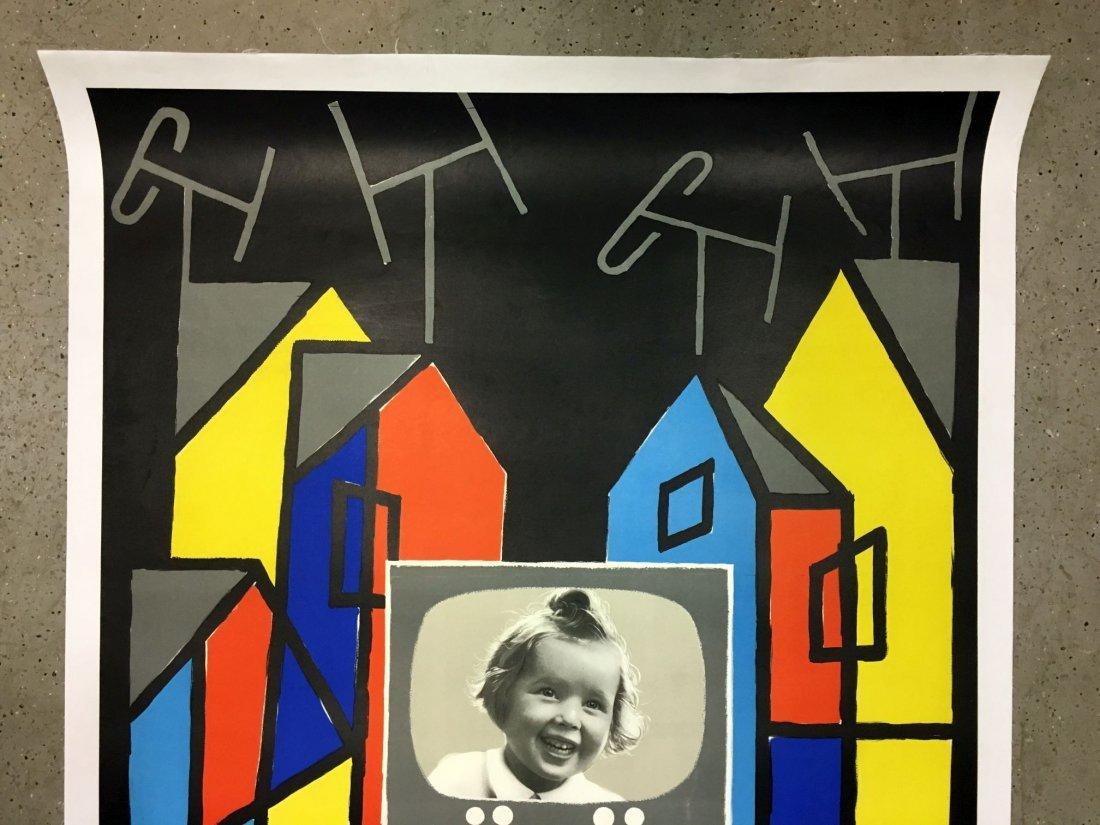 Vintage Ducretet Thomson Orthovision Poster - 2