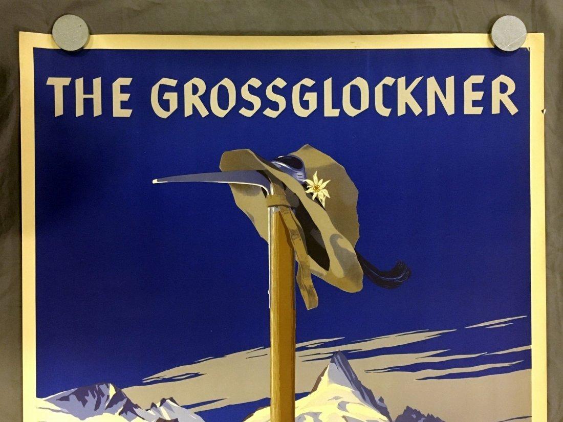 The Glossglockner, Germany Travel Poster, 1930's - 2