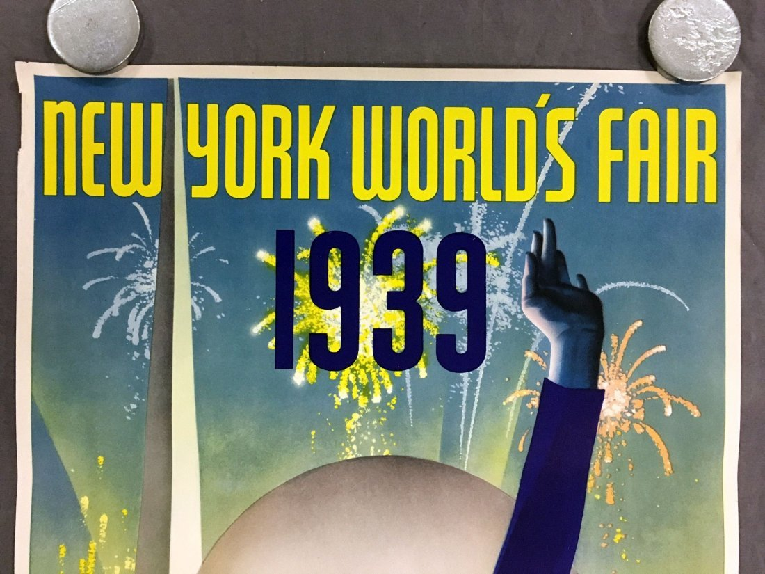 1939 NY World's Fair Poster, Albert Staehle - 2