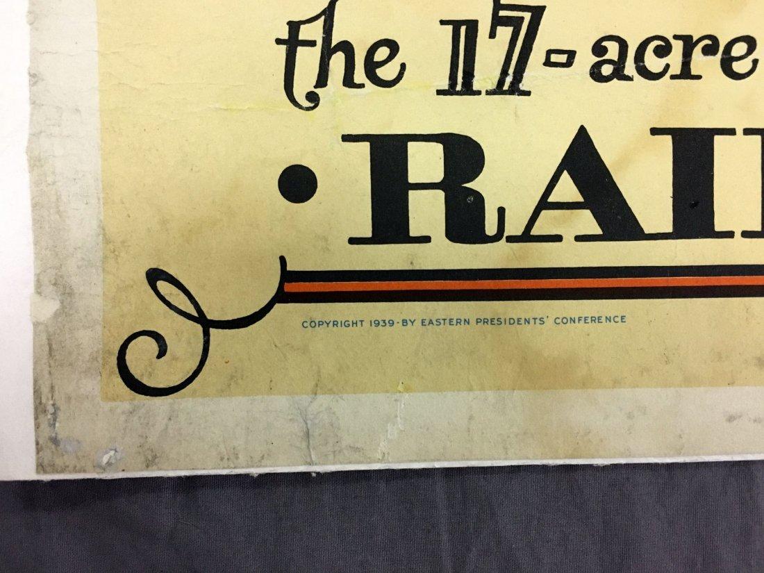1939 NY World's Fair American Railroad Poster - 5