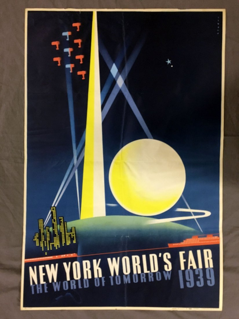 1939 NY World's Fair Poster, Joseph Binder