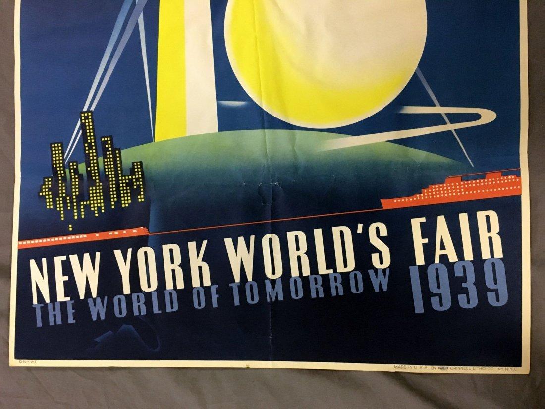 1939 NY World's Fair Poster, Joseph Binder - 4