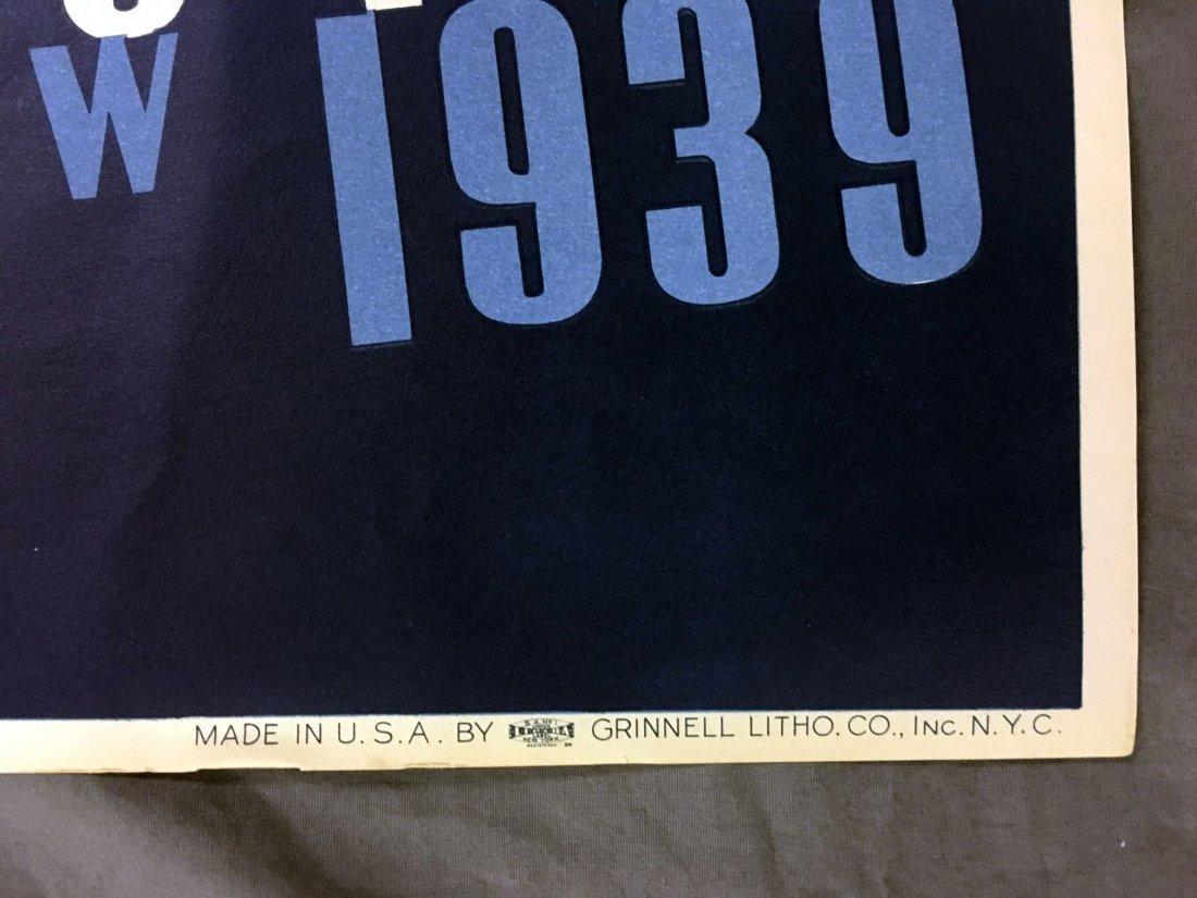 1939 NY World's Fair Poster, Joseph Binder - 5