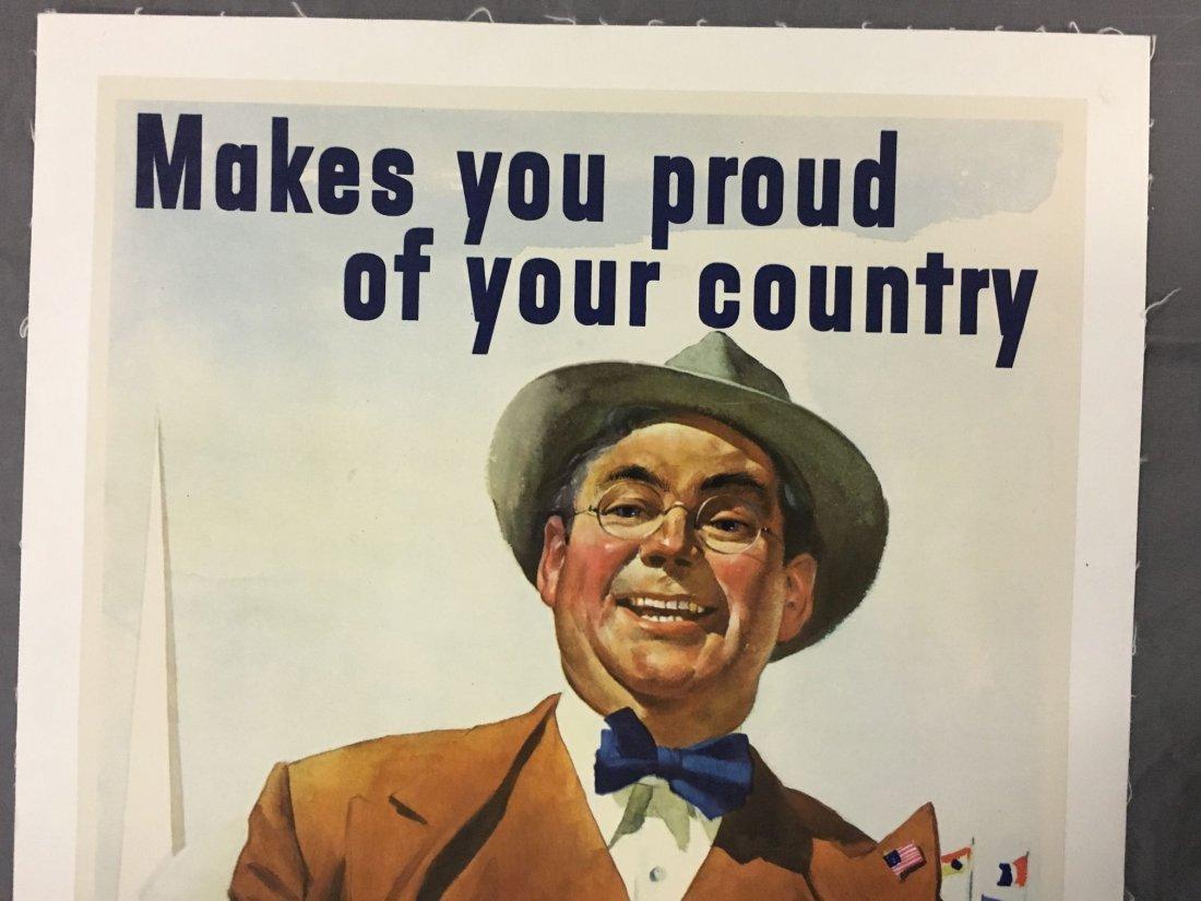 1940 New York World's Fair Poster, Howard Scott - 2