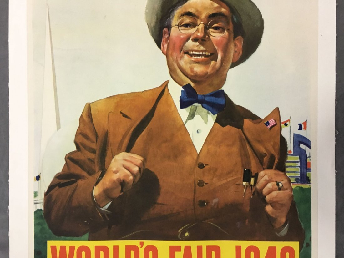 1940 New York World's Fair Poster, Howard Scott - 3
