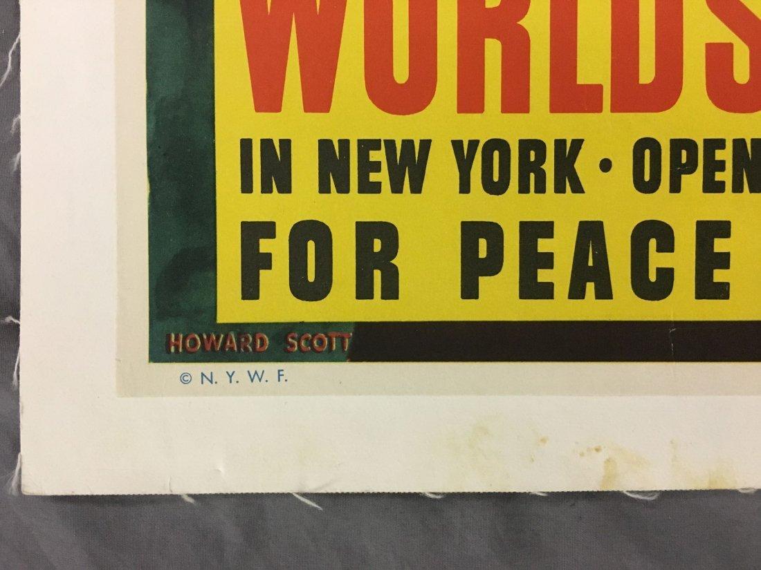 1940 New York World's Fair Poster, Howard Scott - 5