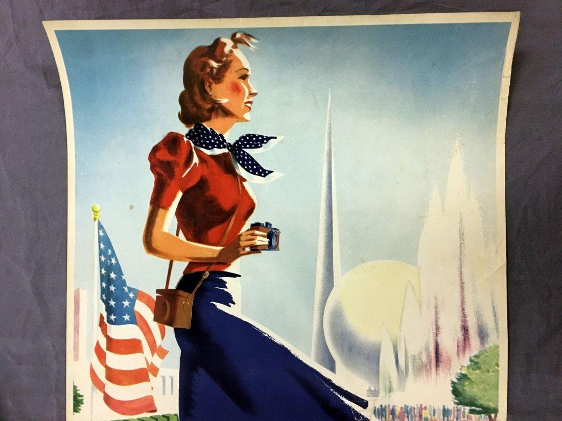 1939 New York World's Fair Summer Vacation Poster - 2