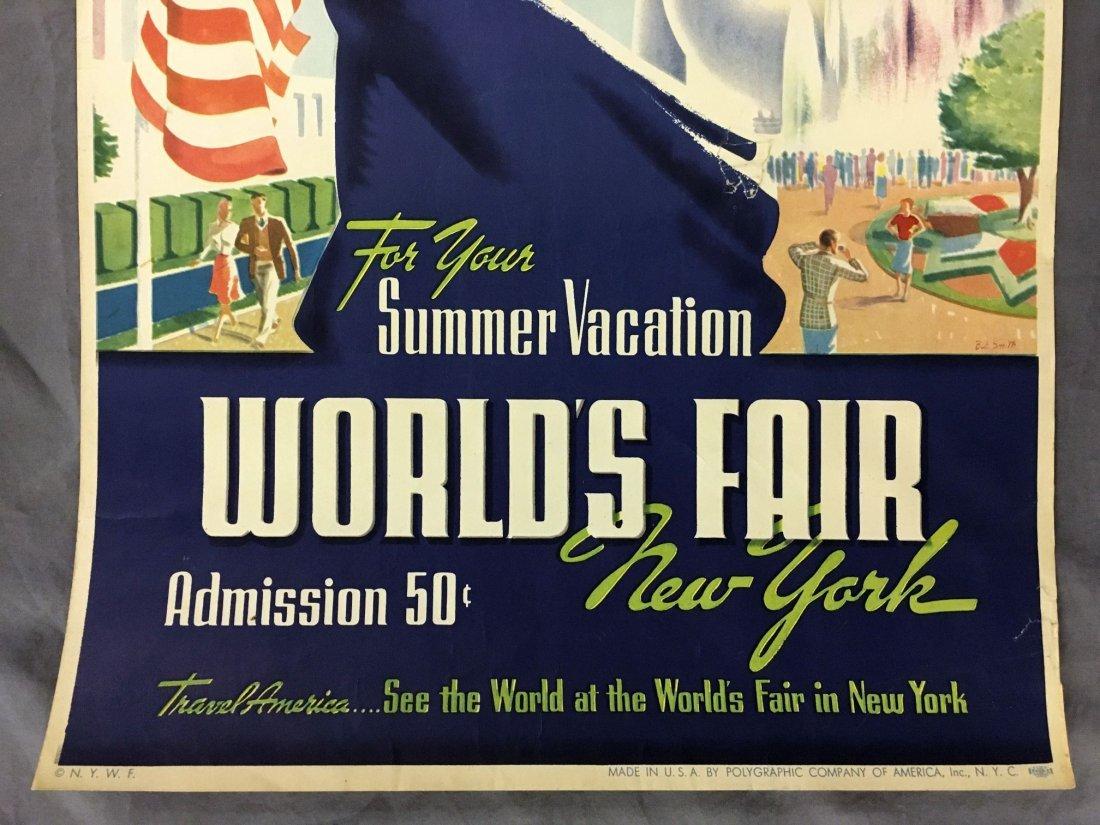 1939 New York World's Fair Summer Vacation Poster - 3