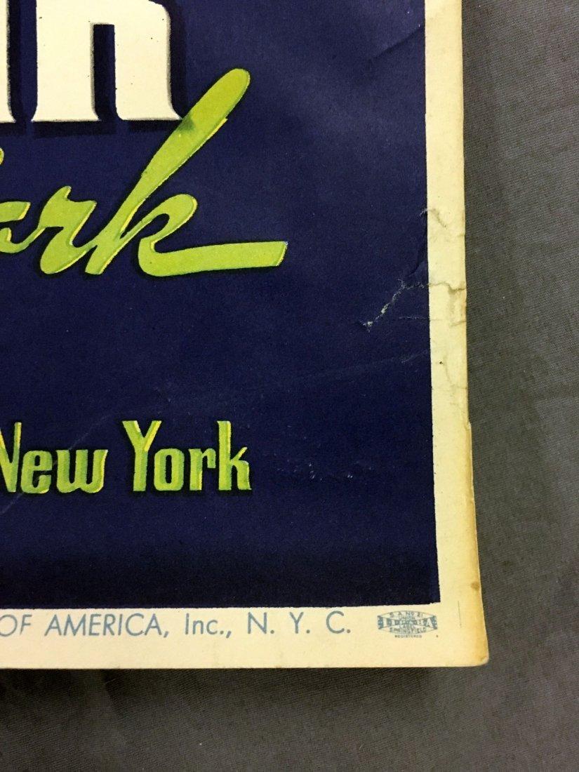 1939 New York World's Fair Summer Vacation Poster - 6