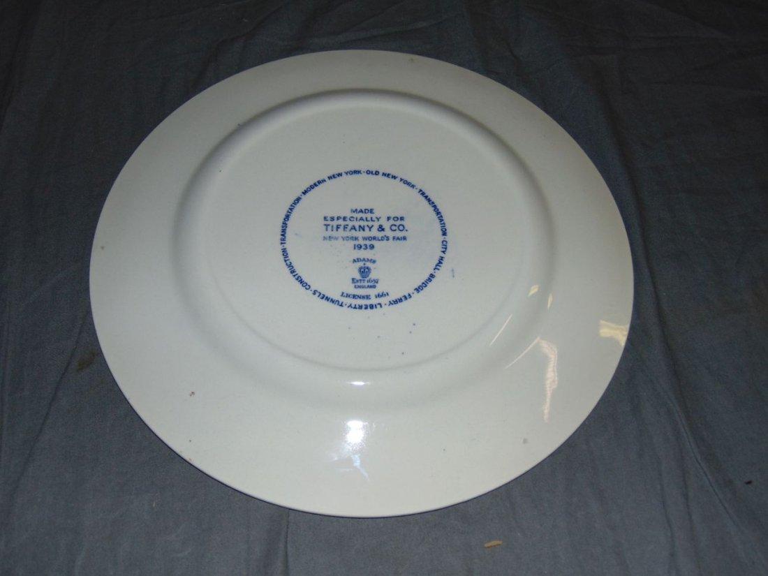 (4) 1939 NYWF English China Souvenir Plates - 5