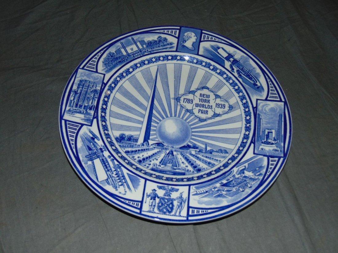 (4) 1939 NYWF English China Souvenir Plates - 6