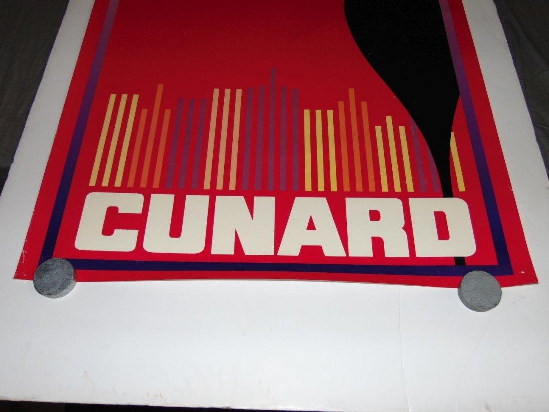 Queen Elizabeth 2 Cunard Poster - 3