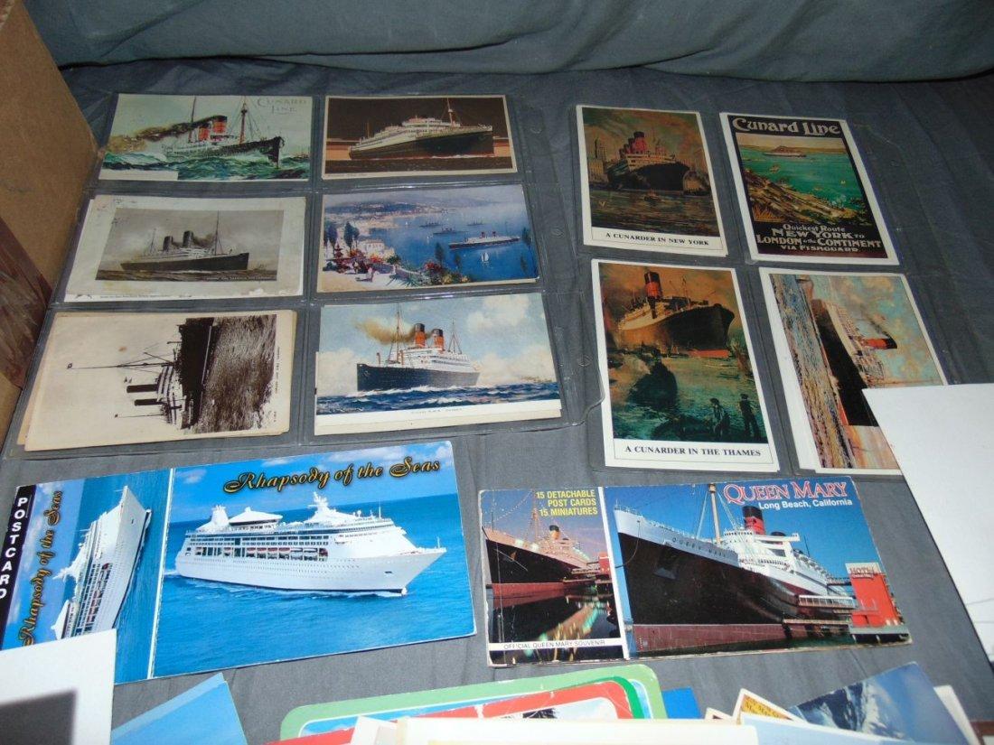 Ocean Liner Postcard Lot - 2
