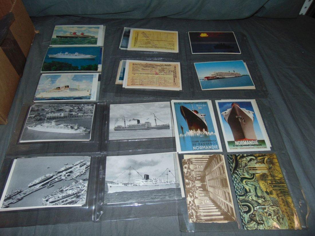 Ocean Liner Postcard Lot - 4