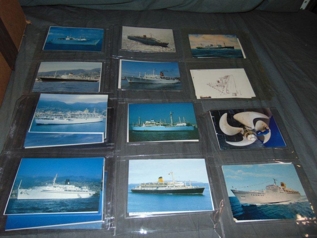 Ocean Liner Postcard Lot - 5