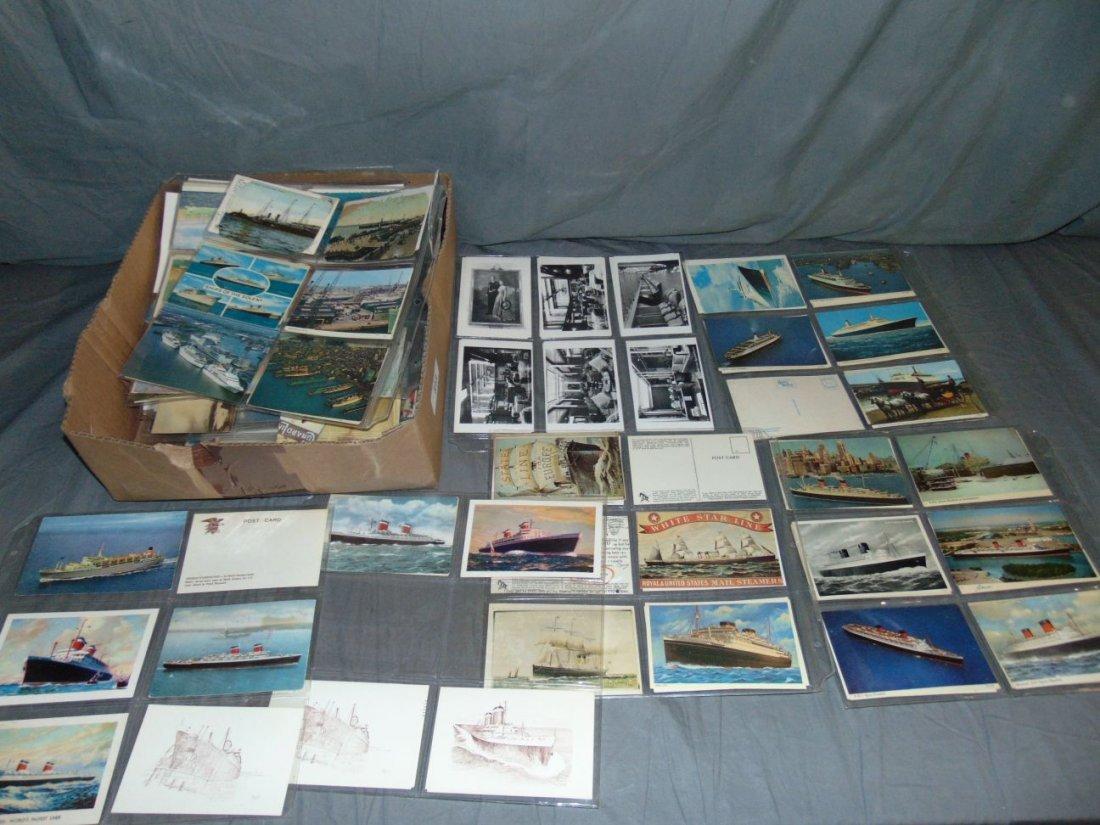 Ocean Liner Postcard Lot