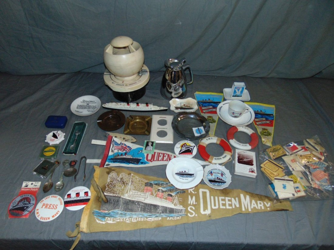 Queen Mary Collectible Lot