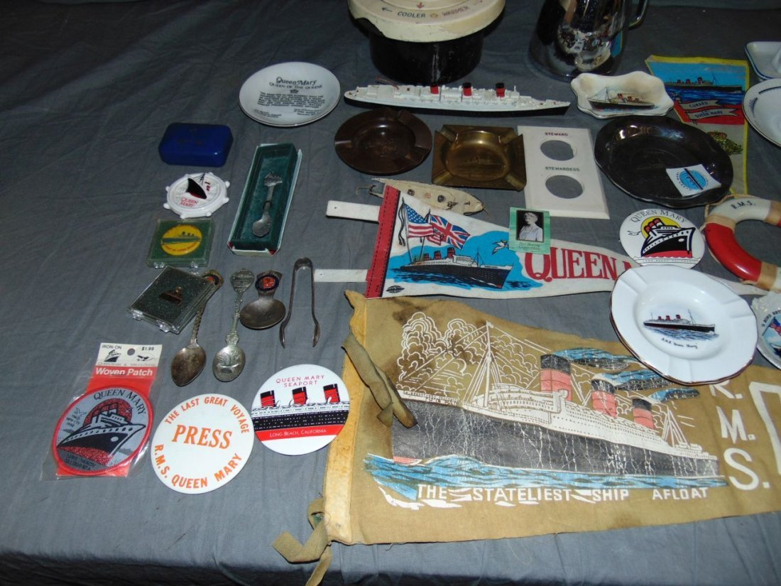 Queen Mary Collectible Lot - 2