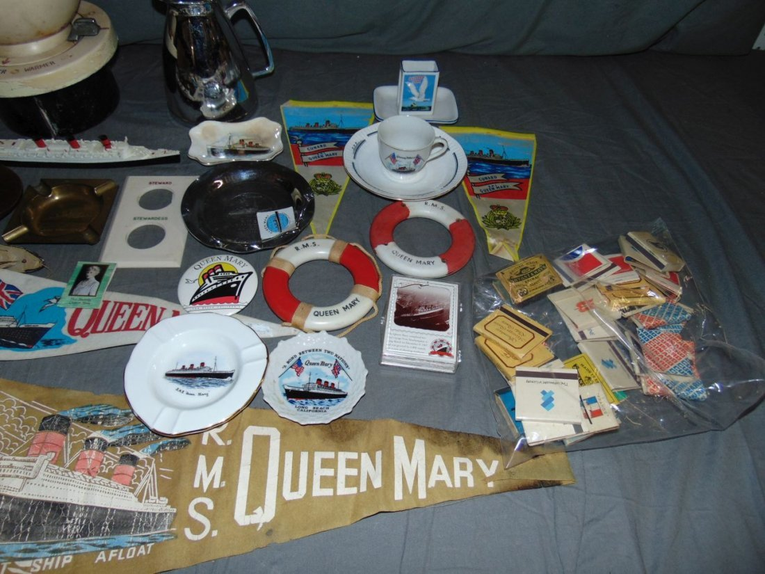 Queen Mary Collectible Lot - 3