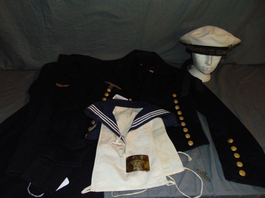 German Sailor Uniform, S.M.S. Graf Spee - 2